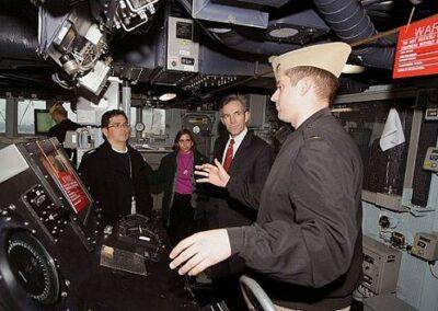 tour of navy ship