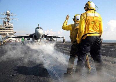 Jet on Air strip