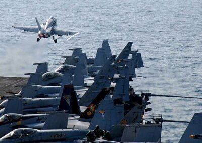 Navy Plane take off